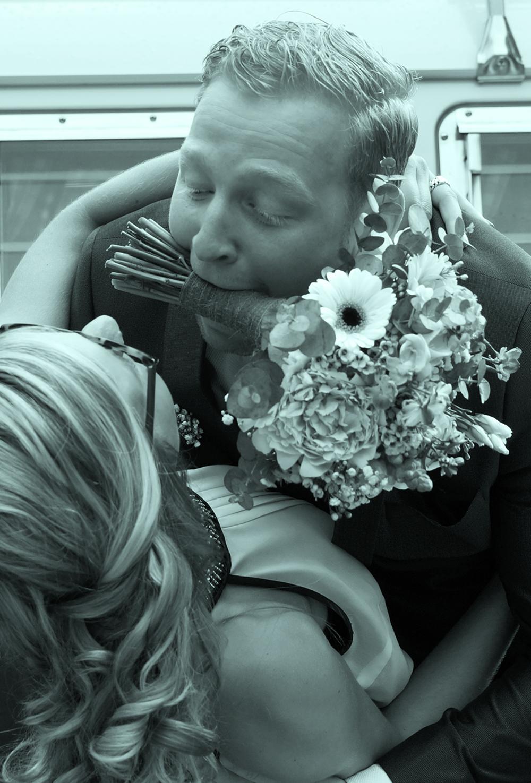 Wedding aanzoek bloemen romantiek