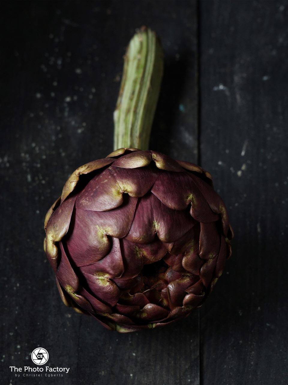 artisjok productfotografie food